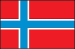 3'x5' Imported Norway Flag