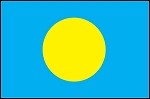 3'x5' Imported Palau Flag
