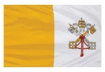 3'x5' Imported Papal Flag