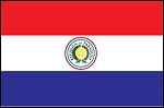 3'x5' Imported Paraguay Flag
