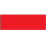 3'x5' Imported Poland Flag