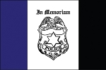 3'x5' Police Mourning Flag