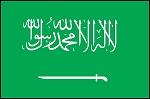 3'x5' Imported Saudi Arabia Flag