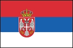 3'x5' Imported Serbia Flag