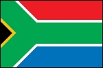 3'x5' Imported South Africa Flag