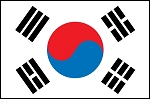 2'x3' South Korea Flag