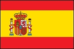 2'x3' Spain Flag With Seal