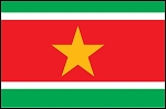3'x5' Imported Suriname Flag
