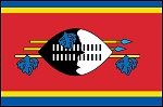 3'x5' Imported Swaziland Flag
