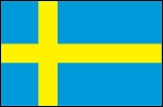 3'x5' Imported Sweden Flag