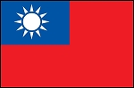 3'x5' Imported Taiwan Flag