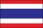 3'x5' Imported Thailand Flag