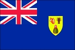 3'x5' Imported Turks & Caicos Flag