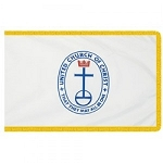 3'x5' United Church of Christ Indoor Flag