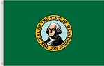 2'x3' Washington Nylon Flag
