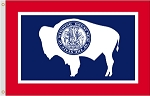 Wyoming Polyester Flags