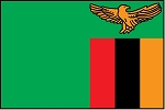 3'x5' Imported Zambia Flag