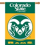 Colorado State Rams Yard Banner