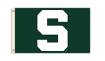 Michigan State Spartans Flag