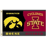 House Divided - Iowa/Iowa State Flag