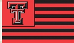 Texas Tech Red Raiders Flag