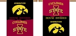 House Divided - Iowa/Iowa State Yard Banner