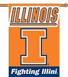 Illinois Fighting Illini Yard Banner