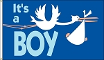 It's A Boy Flag