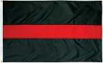 3'x5' Thin Red Line Flag
