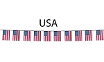 USA Flag String