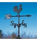 Aluminum Rooster Weathervane