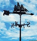 Aluminum Clipper Weathervane