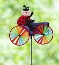Ladybug Tractor Spinner