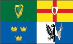 4 Irish Provinces Flag