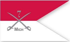 7th Michigan Calvary Guidon