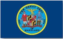 Maryland State Flag 1861 USA