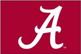 U of Alabama Applique Flag 4'x6'