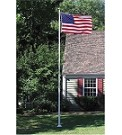 20' Sectional Fiberglass Flagpole