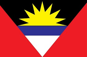 "12""x18"" Antigua & Barbuda Flag"