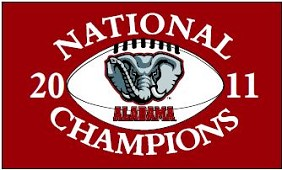 2011 BCS National Champ Flag 3'x5'