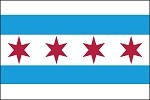 Illinois City Flags