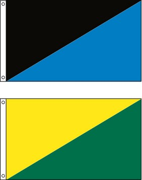 Diagonal Flag