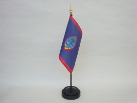 "4""x6"" Miniature Guam Flag"