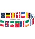 Custom International Flag String