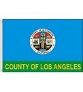 Los Angeles County, CA Flag
