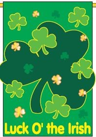 Luck O' The Irish Yard Banner
