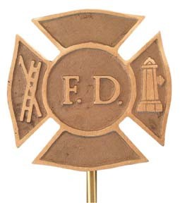 Fire Department Grave Marker