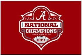 2011 BCS National Champ Flag 4'x6'