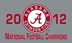 2012 BCS National Championship Flag