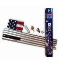 20' Valley Forge Sectional Aluminum Flagpole